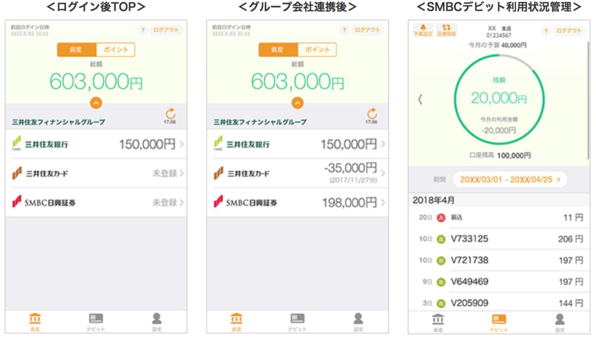 三井住友銀行 smcbデビット スマホアプリ